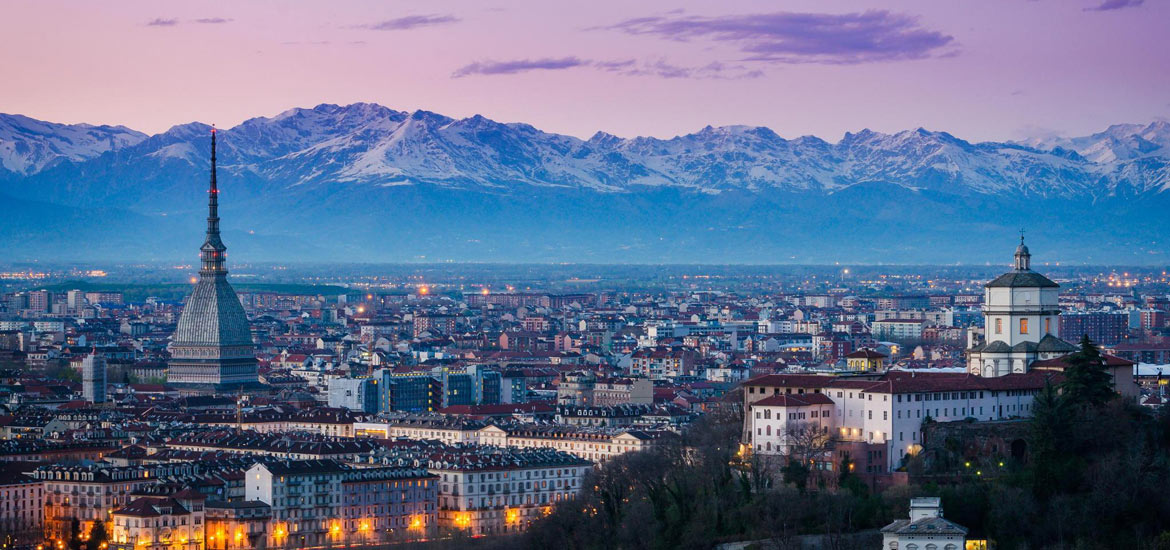 Cultural weekend tour of Turin and hikes in the hills