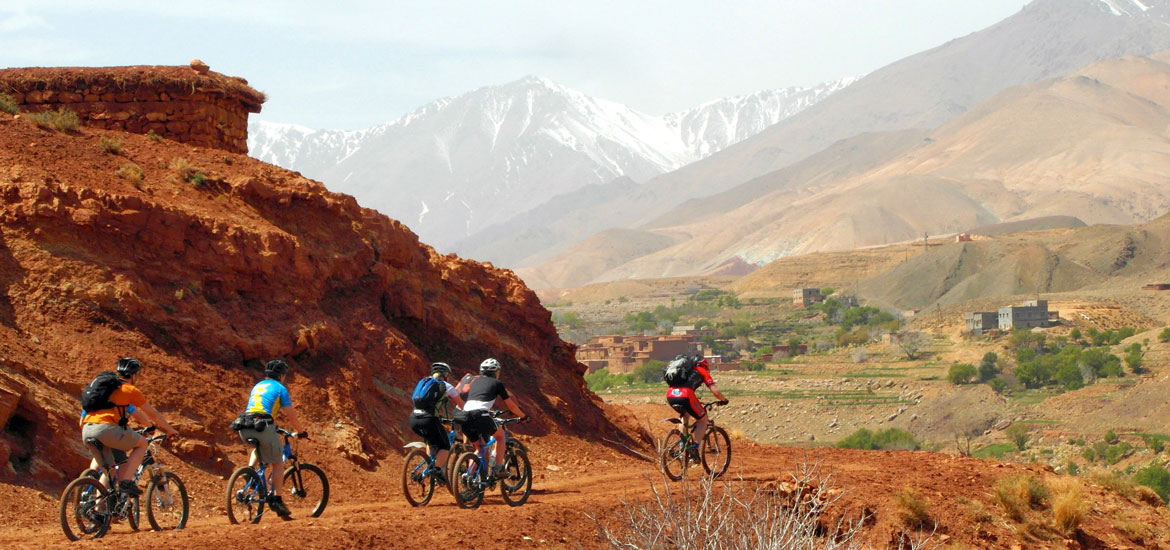Viaggio mountain bike in Marocco