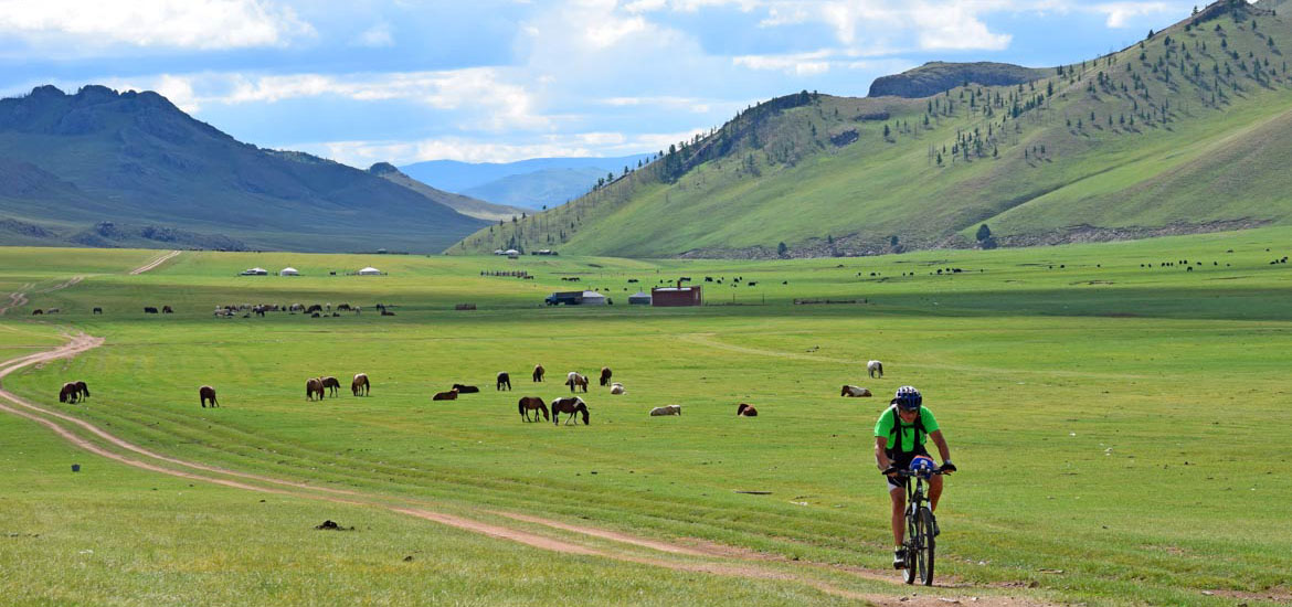 Mountain Bike - Viaggio Mongolia