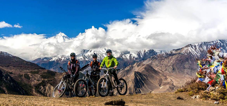 mustang in mtb - viaggio in nepal