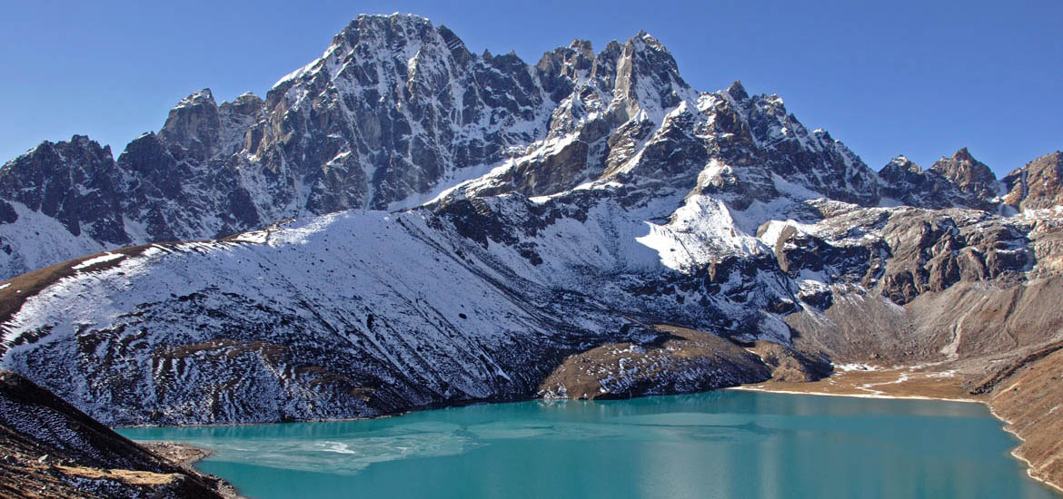 laghi di gokyo trekking campo base everest nepal