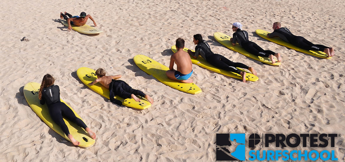 Surfschool surfcamp a Fuerteventura