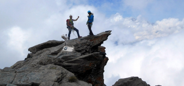 Mountaineering experience in the Alps of Piedmont - Orsiera summit climb