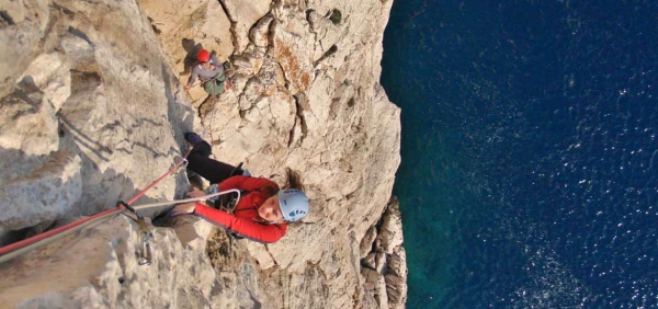 Amalfi Coast rock climbing holiday with guides