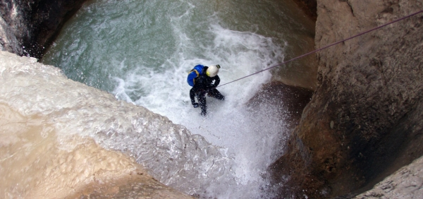 Canyoning day experience in Piedmont and around Turin