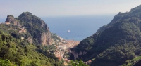 Hiking Tour Amalfi Coast: Path of the Gods, Capri, Positano and the Vesuvius