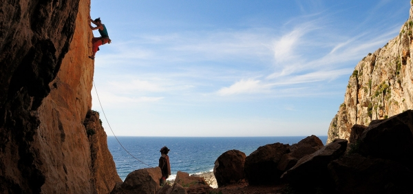 Rock climbing holiday in San Vito Lo Capo, Sicily, with expert guides
