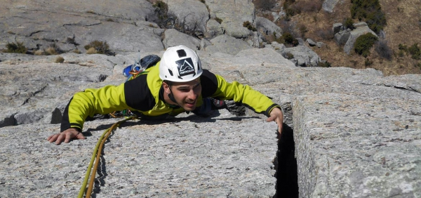 Trad Climbing Weekend in the Alps of Piedmont with Alpine Guides