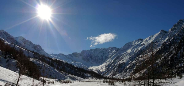 Turin and the Alps of Piedmont: snowshoeing excursions and tour of the city