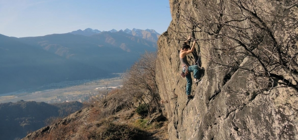 Rock climbing day and weekend tour of Turin